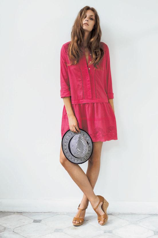 März - Outfit 5 - Kleid, Hut, Schuh (Quelle: noanoa.com)