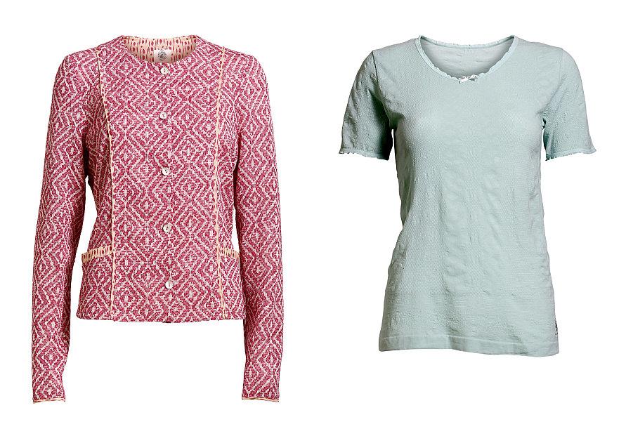 Jacket Catya und T-Shirt Camin von Container