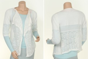 Noa Noa Cardigan 1-3909-1 in Chalk
