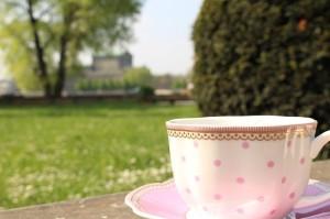 Woche 4 - Bild 4: Kaffeetasse von Lisbeth Dahl