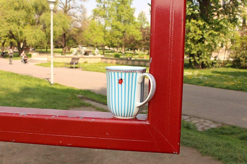Marienkäfer Kaffeebecher von Lisbeth Dahl