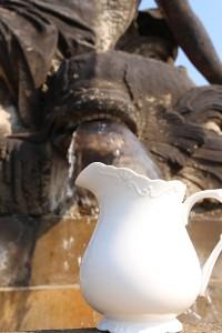 Edle Porzellan-Kanne von Chic-Antique