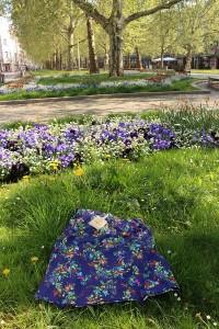 Hübscher Blumenrock von Container
