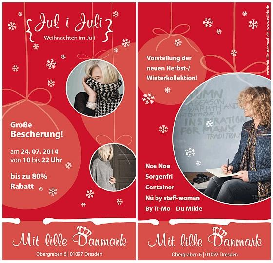 Jul i Juli in Mit lille Danmark