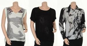 Shirts aus der Herbst-Kollektion 2014 von Nü by Staff-Woman