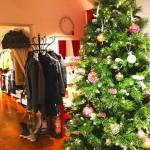Unser bunt geschmückter Weihnachtsbaum