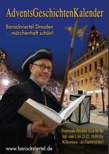 Advents-Geschichten-Kalender vom Dresdner Barockviertel