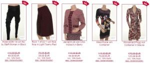 Sale: Hosen, Röcke, Jackets und Kleider aus den Herbst- und Winterkollektionen