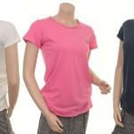 Bamboo T-Shirt 4351-51 in creme, pink honey und blue night von Nü by Staff-Woman
