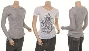 Blouse 4375-60 und T-Shirt 4347-52 von Nü by Staff-Woman