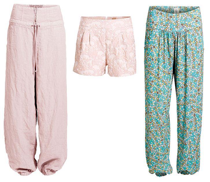 Tolle Leinen-Hosen und sexy Shorts von Container: Ginnie, Gila und Gunda