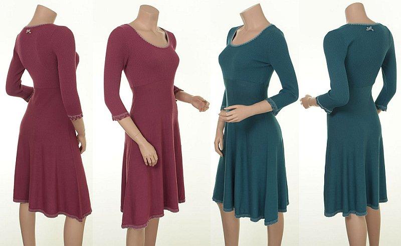 Kleid Aleksa 15-051 in den Farben Wild Rose und Ocean