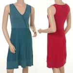 Kleid Jette 15-053 in den Farben Ocean und Strawberry