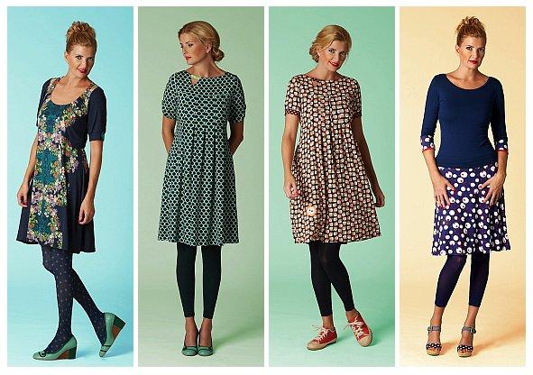Kleider, Röcke und T-Shirts von Du Milde (Quelle: dumilde.com)