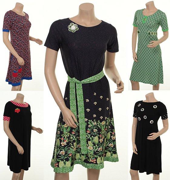Du Milde Kleider aus der Fürhlings- Sommer-Kollektion 2015
