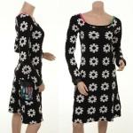 Blumen-Kleid Mila Cream von Margot