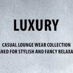 Slogan der Luxury-Collection 2015 von Nü by Staff-Woman