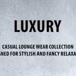 Slogan der Luxury-Collection 2015 von Nü by Staff-Woman