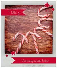 01.12.2015 Julekalender: Zuckerstange zu jedem Einkauf