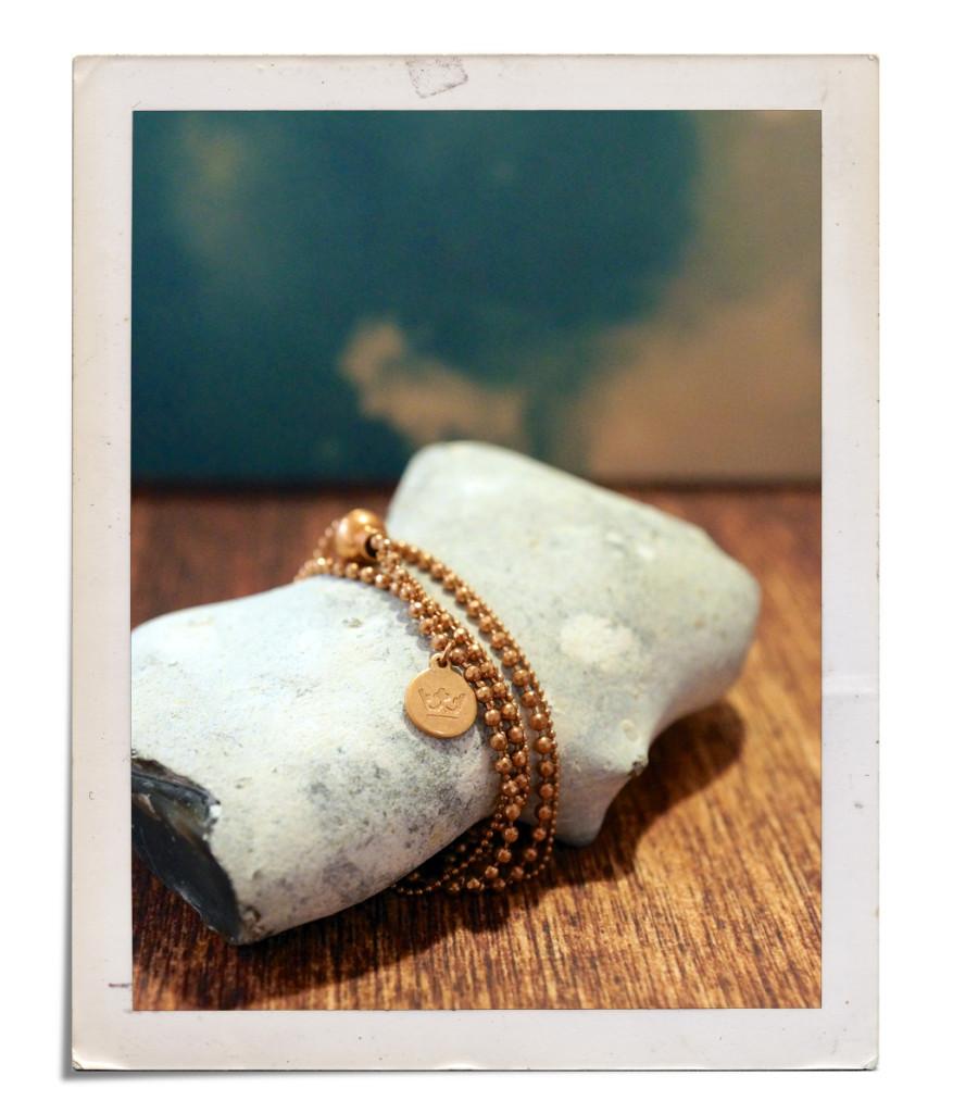 "Sence Copenhagen ""Living Dreams"" Frühjahr/Sommer 2016 - Armband F875 worn rosegold"