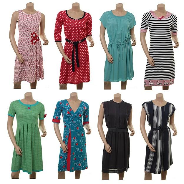 Dänische Kleider