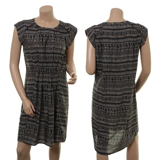 Leicht transparentes Kleid 1-6404-1 von Noa Noa in print grey
