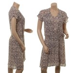 Sommerkleid 1-6414-1 in print grey von Noa Noa