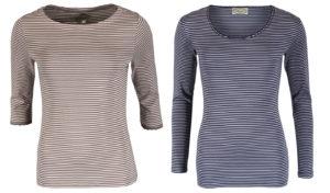 Gestreifte Shirts Bea und Sandra