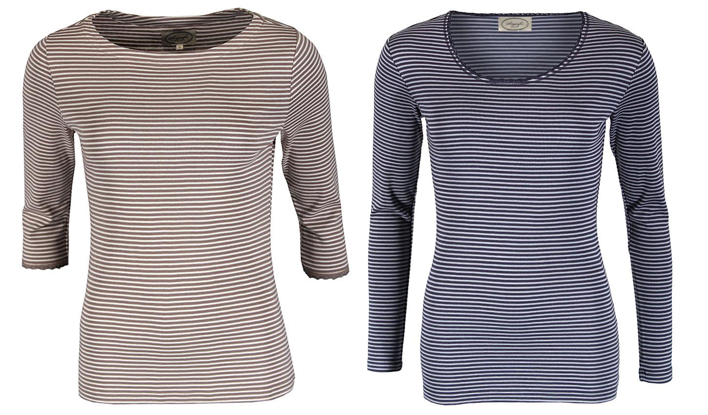 hot sale online 592d3 453ae Gestreifte Shirts Bea und Sandra von Sorgenfri Sylt ...