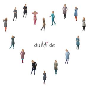 Du Milde - Kleider der Herbst-Winterkollektion