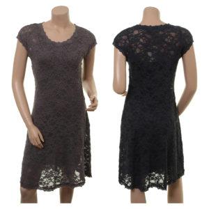 Kleid Fritzi von Sorgenfri Sylt in den Farben Graphite und Night