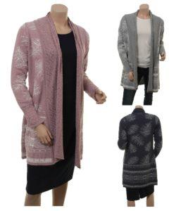 Knitwear Fredoline von Sorgenfri Sylt in den Farben Moss und Night
