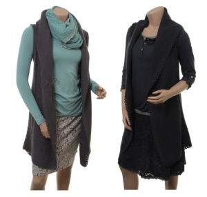 Knitwear Kea von Sorgenfri Sylt in den Farben Graphite und Night