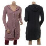 Knitwear Marita von Sorgenfri Sylt in den Farben Powder und Night