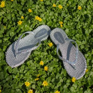Flipflop CHEER0190-A-710 in Silver
