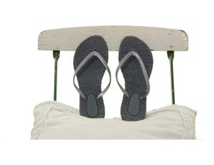 Flipflop Cheerful01 in Grau
