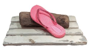 Flipflop Cheerful01 in Pink