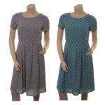 Kleid Maxima in dust und denim