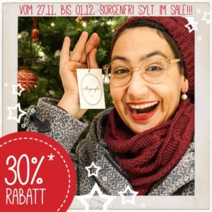 Sorgenfri Sylt Sale - Adventskalender 2017
