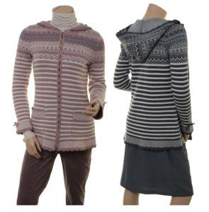 Knitwear Holly (18-072) in powder und night von Sorgenfri Sylt