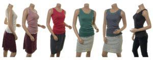 Shirt New Moni (18-055) in ivory, powder, coral, river, aqua und night von Sorgenfri Sylt