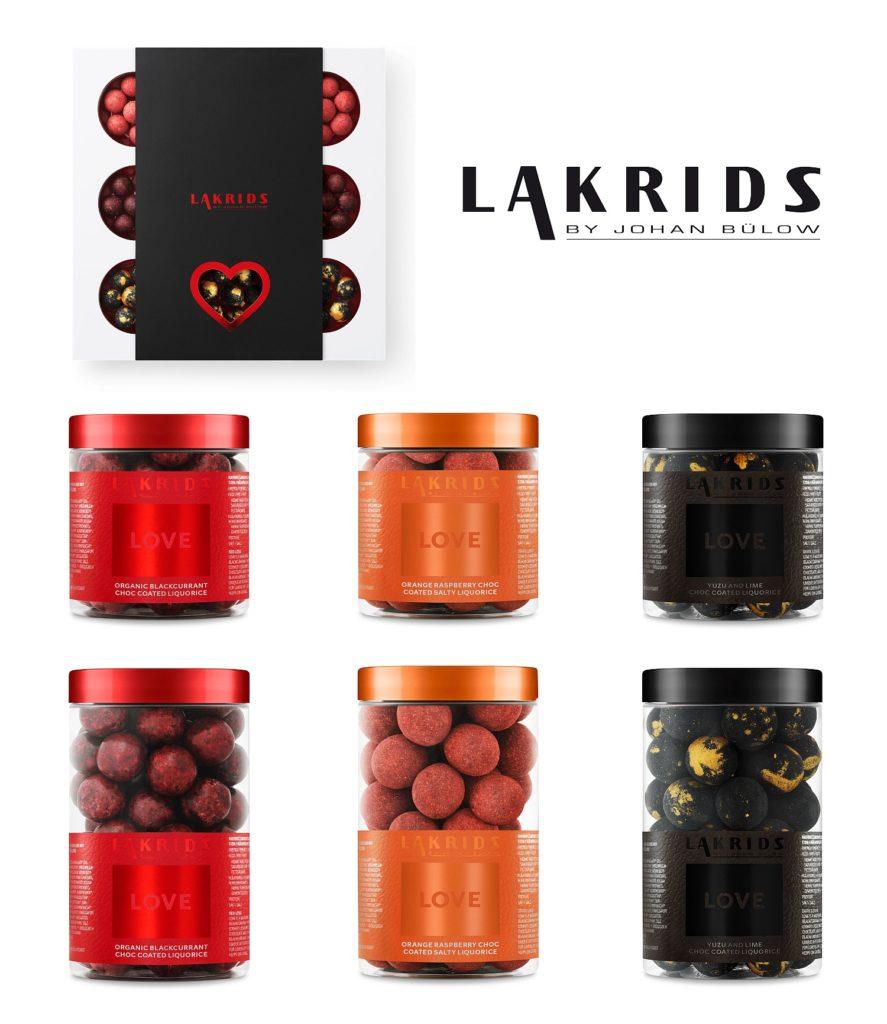 Love Collection - Kalaha-Box, Red, Dark und Orange