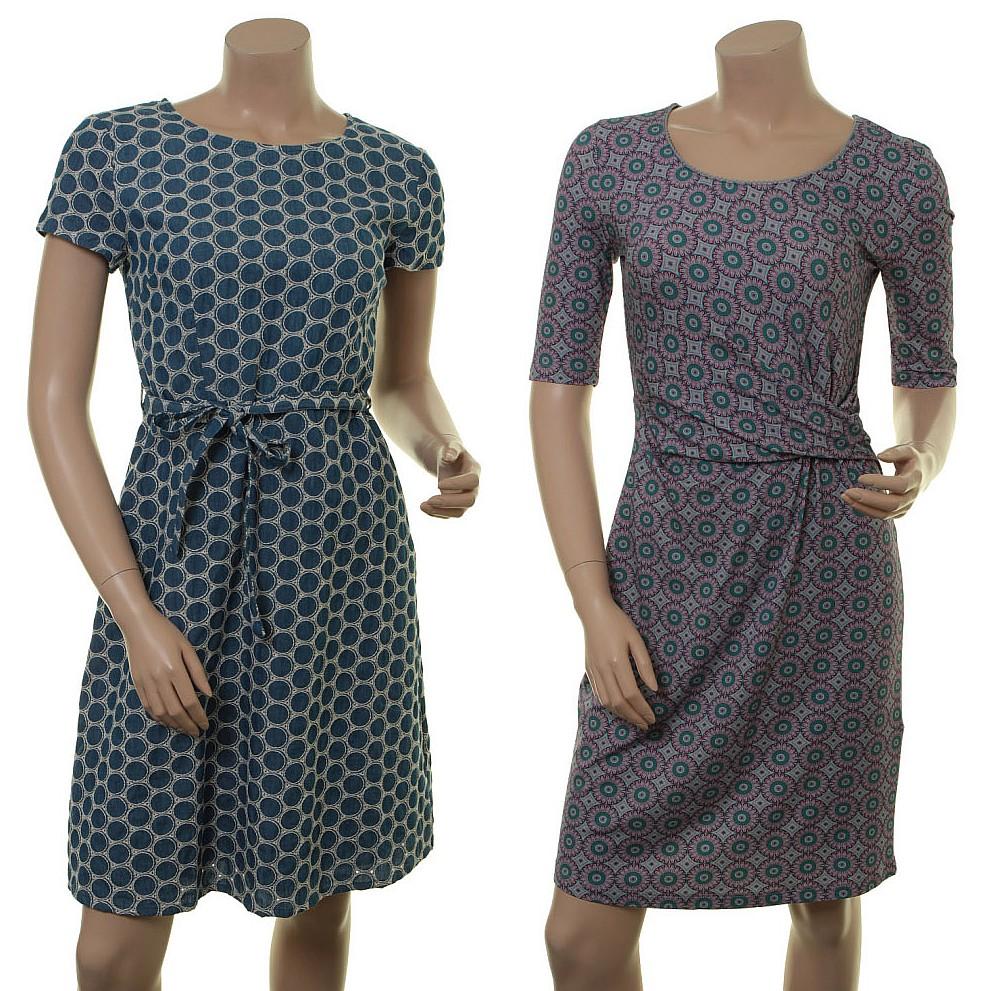 Kleid Alara (18-008) und Kleid Manon (18-035)