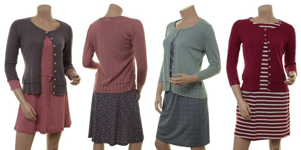 Strickjacken-Outfits mit Knitwear Leoni (18-107)