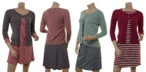 Strickjacken-Outfits mit Knitwear Leoni (18-107)