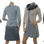 Outfits mit Strickjäckchen Mascha (18-105)